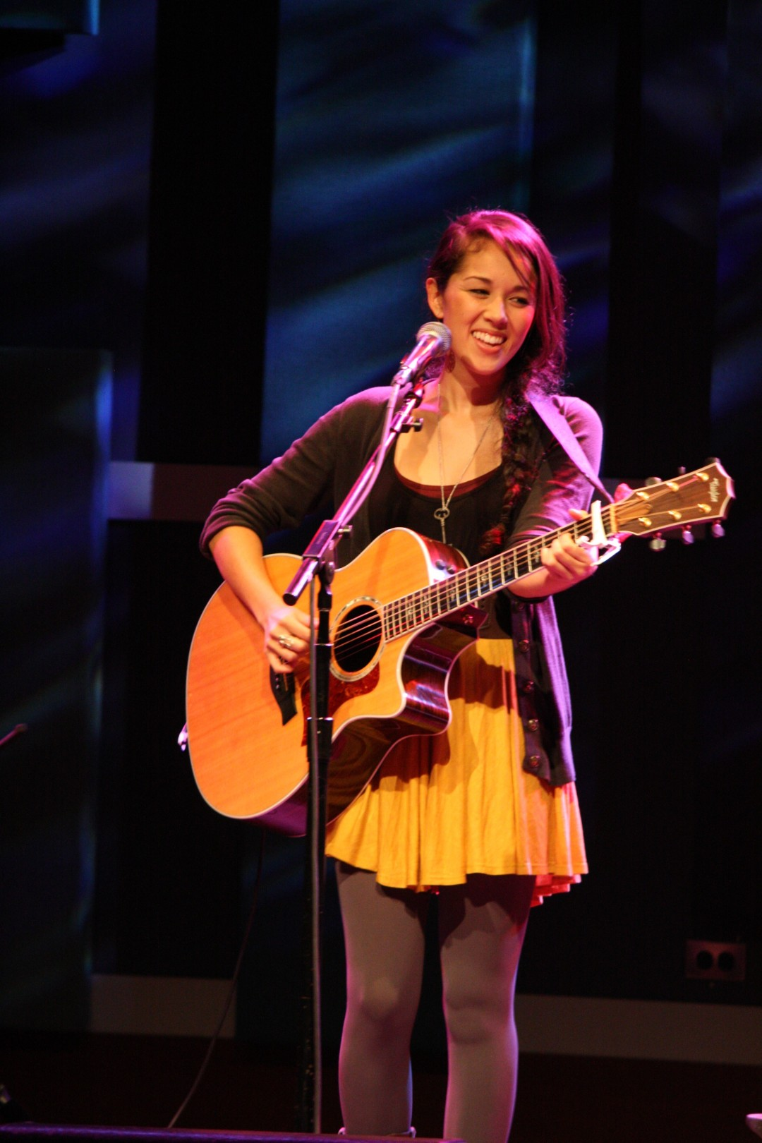 Kina Grannis at World Cafe Live, 2011