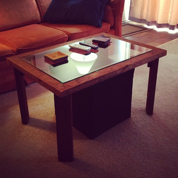 My new coffee table!