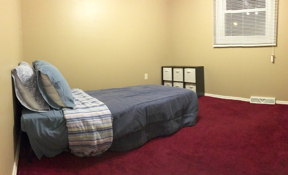 Room 2 (not pictured: closet, dresser, night stand)